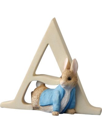 Alphabet Letter A - Peter Rabbit