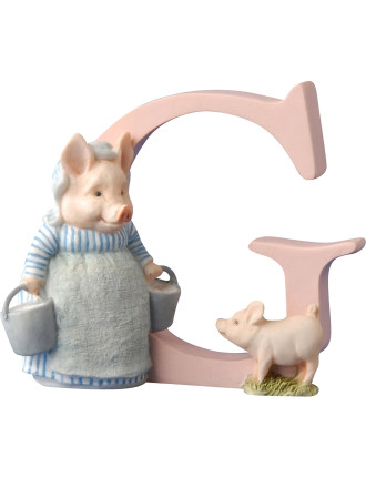 Alphabet Letter G - Aunt Pettitoes