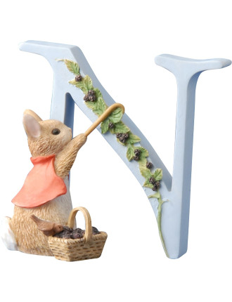 Alphabet Letter N - Cotton Tail