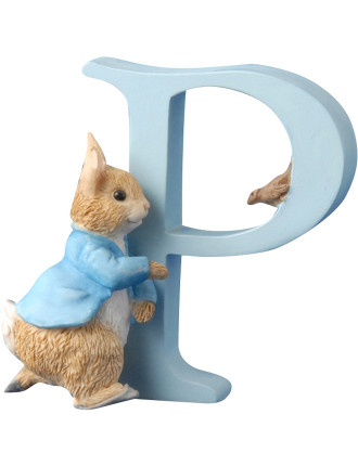 Alphabet Letter P - Running Peter Rabbit