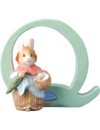 Alphabet Letter Q - Mrs. Rabbit
