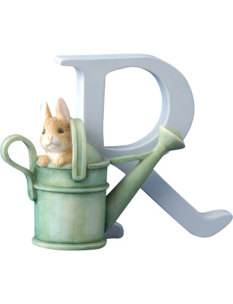 Alphabet Letter R - Peter Rabbit In Watering Can
