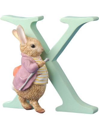 Alphabet Letter X - Old Mr.Benjamin Bunny