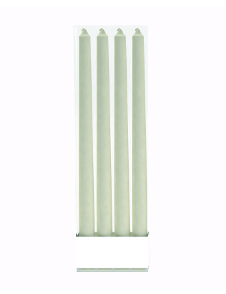 Ivory Tapered Candles Set Of 4