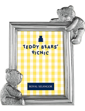 Teddy Bears Picnic Rectangle Photo Frame