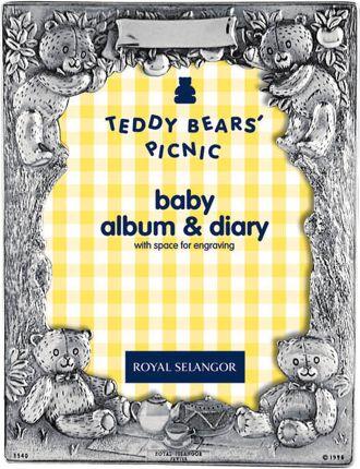 Teddy Bears Picnic Baby Diary Album