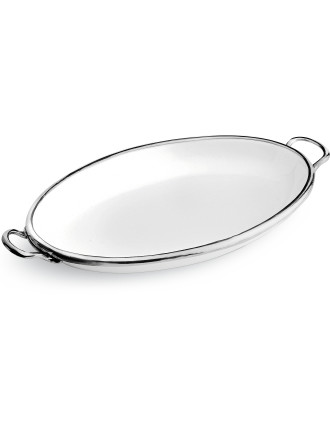 Oval Tray with Handles 45cm