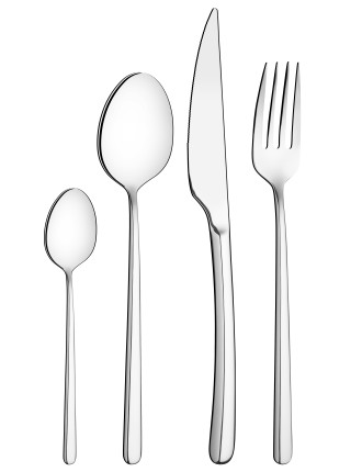 Los Angeles 24pc Cutlery Set