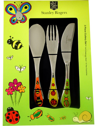 Kids Cutlery Set - Insect
