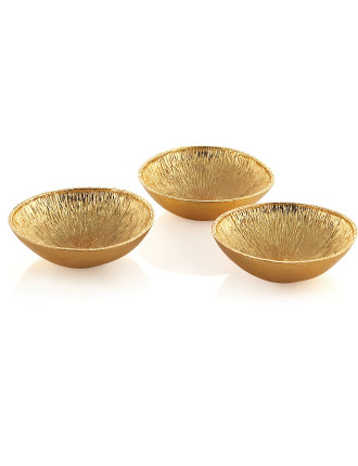 Lemonwood Dish Set of Three