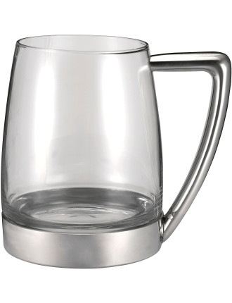 Modern Tankard With Glass