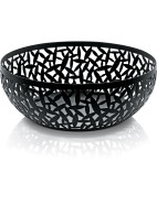 Cactus Fruit Bowl In Black 29cm $129.00