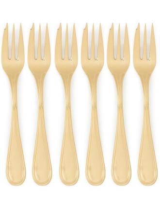 Paris Cake Forks Set Of 6