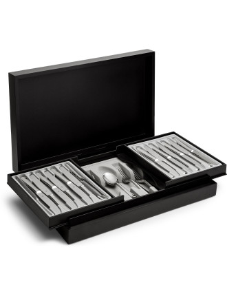 English Rattail 56pc Cutlery Set