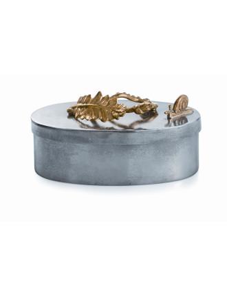 Enchanted Garden Oval Box