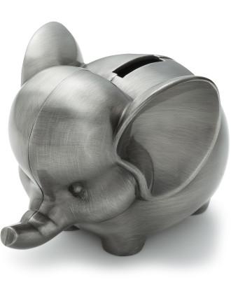 Pewter Money Box Elephant