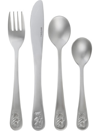 Teddy's Table Four Piece Cutlery Set