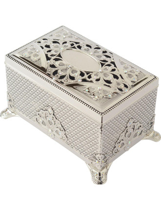 Musical Jewellery Box With Stones