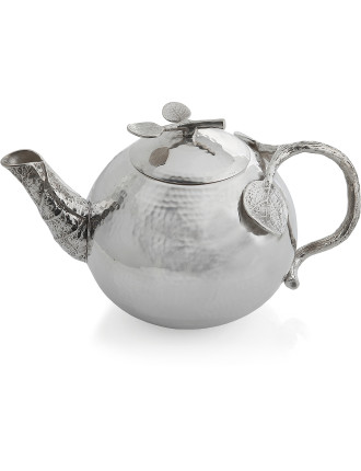 Botanical Leaf Teapot