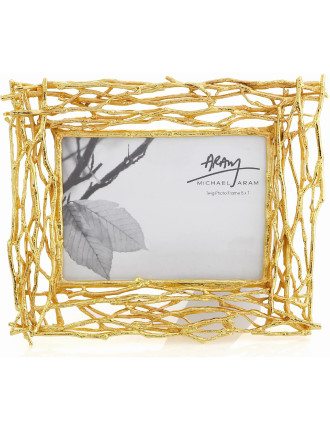 Twig Photo Frame Goldplated
