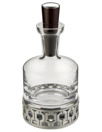 Hexagon Whiskey Decanter