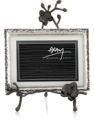 Black Orchid Convertible Easel Photo Frame