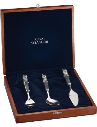 Teddy Bears Picnic Fork/Spoon/Knife In Gift Box