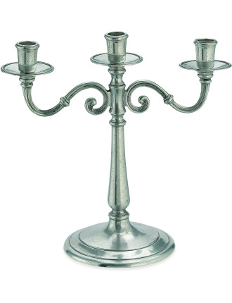 Three Light Candelabra 29cm