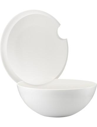 Lidded Bowl White 2.5l