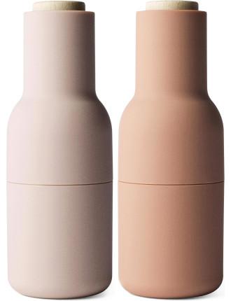 Bottle Grinder 2-piece Salt & Pepper Set
