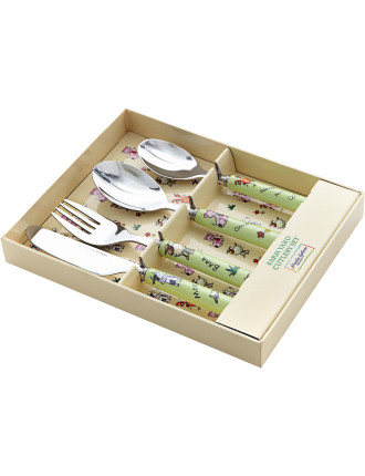 Childrens 4-Piece Cutlery Set