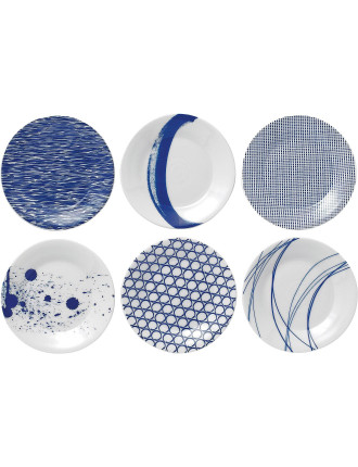 Pacific Plates Set Of 6