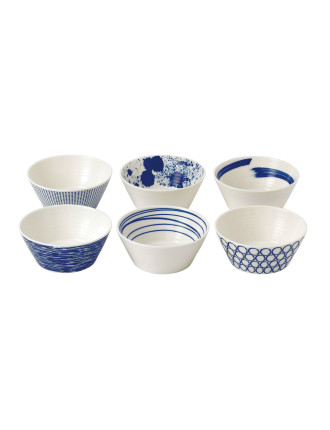 Pacific Bowls Set Of 6