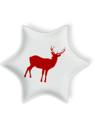 Festive Forest Star Plate
