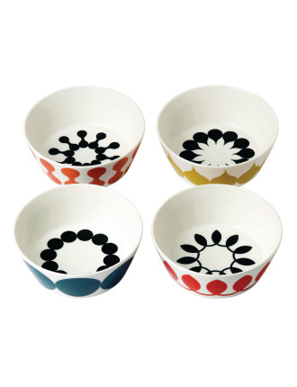 Charlene Mullen Set 4 Cereal Bowl