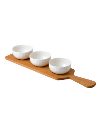 Tisbury Platter With 3 Bowls