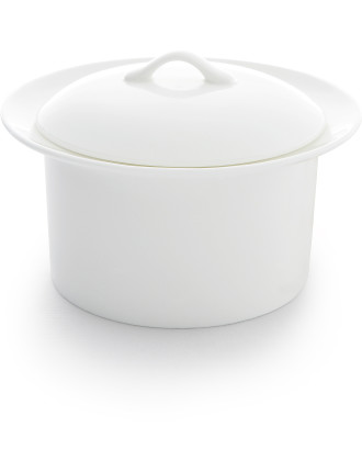 Michelangelo Parmesan Bowl with Lid