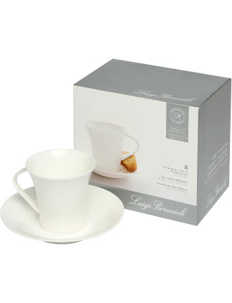 Michelangelo 8-Piece Espresso and Saucer