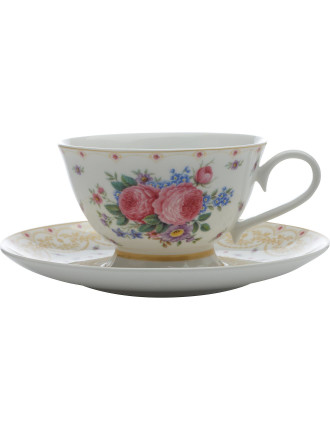 Kensington Palace Rose Teacup & Saucer