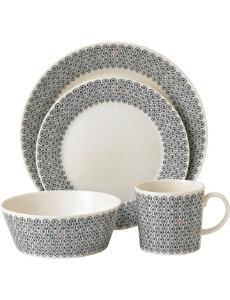 Charlene Mullen Foulard Star 16 Piece Dinner Set