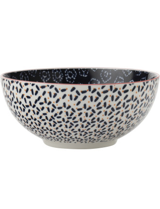 Boho Bowl Shibori Navy 18cm