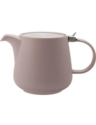 Tint Teapot 1200ml Rose