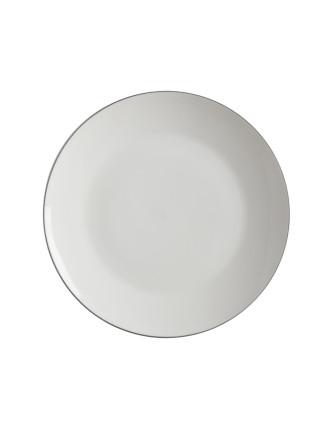 White Basics Edge Coupe Dinner Plate 27.5cm