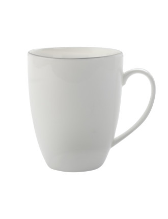 White Basics Edge Coupe Mug