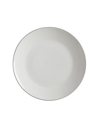 White Basics Edge Coupe Plate 23.5cm