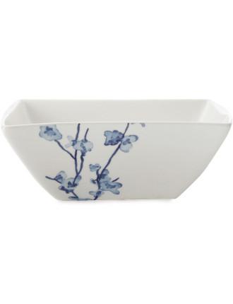 Oriental Blossom Square Soup Bowl 16cm