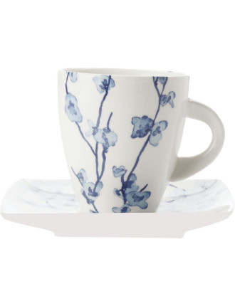 Oriental Blossom Cup & Saucer