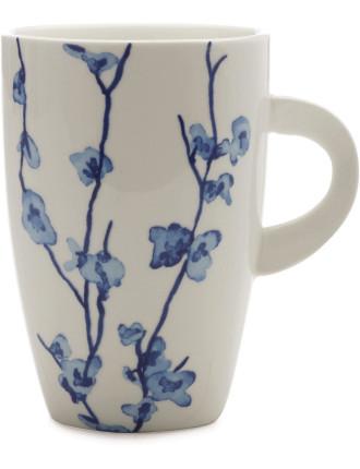 Oriental Blossom Coupe Mug