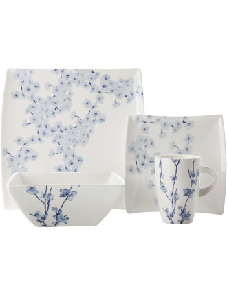 Oriental Blossom Dinner Set 16 Piece