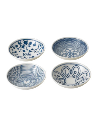 Ed Bowl Set Of 4